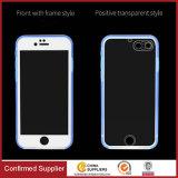 Transparente Soft TPU Full-Sealed impermeável e à prova de pó caso de telefone protetor