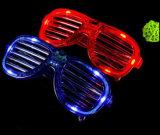 謝肉祭昇進LEDの点滅のサングラス