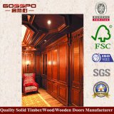 Klassische hölzerne Wandverkleidung täfelt Dekoration (GSP9-073)