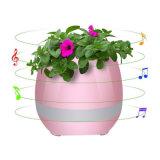 Plástico de la luz de linterna Muti-Color Música inteligente maceta con altavoz Bluetooth
