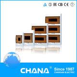 Тип коробка материальной портативной силы ABS напольный электрический распределения утюга