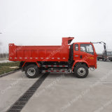 중국 Sinotruk 4X2 10ton 가벼운 덤프 트럭 팁 주는 사람 트럭