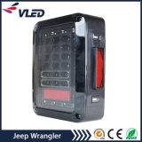 07-16 für JeepWrangler Jk LED Betrieb-Drehung-Bremsen-Rückseiten-hintere Lampe des Endstück-Licht-4X4 nicht für den Straßenverkehr