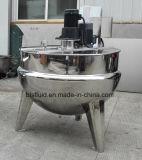 Caldera de mezcla industrial vestida de la calefacción de vapor del acero inoxidable