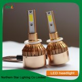 Voyant auto ampoule de projecteur H 9005 HB3 C6 Projecteur LED puce COB Automobile