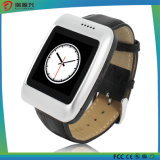 S13 Bluetooth Smartwatch mit dem lederne Brücke-Pedometer kompatibel mit IOS