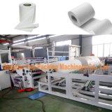 El corte de papel higiénico laminado máquina rebobinadora