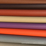 Couro sintético de PVC padrão de pano para móveis de sofá