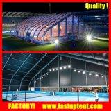 Grosse Aluminiumkurven-permanentes Zelt für Hochzeits-Lager-Sport