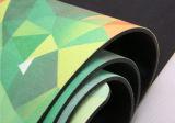 Stuoia antibatterica di yoga di Microsuede stampata abitudine con stampa di sublimazione della tintura
