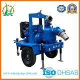 Mouvement rapide de la pompe entraînée par le moteur diesel d'eaux usées pour Waterlog
