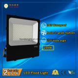 2018 moda proyector LED 200W exterior IP65 con la famosa marca LED y fuente de alimentación