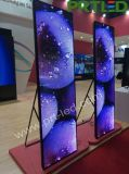 P2.5 Ultra Slim LED de cores de tela Poster para Shopping Mall/janela