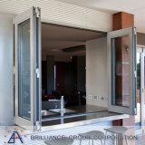 Salvare la finestra Bifold di alluminio di energia