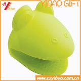 Guanti su ordinazione del silicone di resistenza di abrasione dell'articolo da cucina (XY-HR-94)