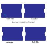 Protegendo informações de bloqueio de RFID de plástico duro da Luva do cartão de crédito