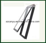 Modernes Aluminiumoberlicht-einzelnes Glasfenster