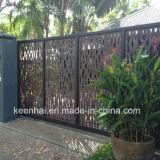 Corte a Laser Designs da porta principal do jardim de alumínio