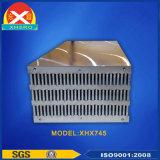 Alliage aluminium Extrustion dissipateur de chaleur pour onduleur solaire photovoltaïque