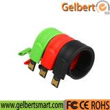 Mecanismo impulsor de encargo del flash de la capacidad USB2.0 16GB de la pulsera para el regalo