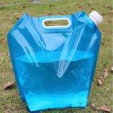 sacchetto pieghevole dell'acqua potabile di piegatura pieghevole portatile esterna 3L/5L/8L