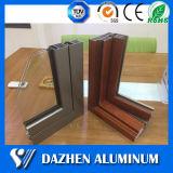 Profilo di alluminio di alluminio della finestra del portello scorrevole con il rivestimento della polvere