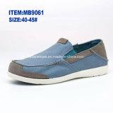 Hotsale мужчин пробуксовки колес на повседневная обувь Canvas обувь оптовая торговля настроить (МБ9061)