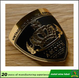 Emblem-Kennsatz des Fabrik-Preis-preiswertes kundenspezifisches Metallaluminium gedruckter Wein-3D mit gutem Aufkleber