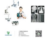 Alambre veterinario médico de la máquina de radiografía del animal doméstico del veterinario y pantalla plana sin hilos