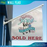 Doble cara de vinilo de PVC pared de la pared de la bandera para el exterior