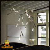 Modernes Eisen und hängende acrylsauerlampe für Hauptdekoratives