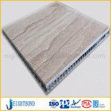 浴室の使用法のための木製の穀物の石の蜜蜂の巣のパネル