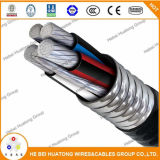 Taper le câble de Mc avec la jupe de PVC (2 conducteur), câble de Mc, câble à C.A. de câble de Bx