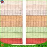 Home Textile en polyester tissé flocage Tissu imperméable rideau d'indisponibilité