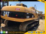 El excavador usado 320c, excavador usado de la oruga 320c, 320c utilizó el excavador de la correa eslabonada del gato