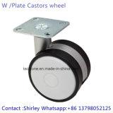 Hardware caldo della mobilia del piatto della parte superiore di alta qualità della Cina che livella le rotelle della macchina per colata continua