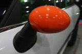 Couleur orange protégée UV en plastique de type sportif ABS de tout neuf avec des couvertures de miroir de carbone de qualité pour Mini Cooper R56-R61