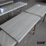 Kkr feste Oberflächenbadezimmer-Eitelkeits-Oberseite für Hotel-Projekt (C1706052)