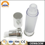 Recipiente mal ventilado magro geado do frasco para o cuidado pessoal