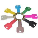 Platte Goldfarben-Schlüssel-Form USB-Blitz-Laufwerk Soem-U