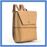 Bolsa de mochila casual de papel novo DuPont, saco de mochila de entrega recente, Promoção Bolsa de ombro de papel tyvek com correia de nylon ajustável