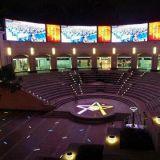 Visualización de LED del estadio del perímetro del deporte al aire libre P8