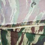 Taslon impreso camuflaje revestido para la tela de la tienda