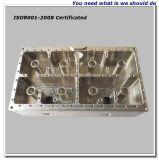 純粋なCNC機械化アルミニウムフィルターハウジング、機械で造られた部分
