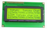 20X4 특성 LCD 디스플레이 alphanumeric 옥수수 속 유형 LCD 모듈 (LMB204B)