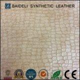 Кожа одежды PU эластичная синтетическая