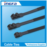 Attache en plastique attache de câble en nylon Supports de fixation des câbles