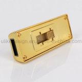 Golden Metal USB Flash Driver (M-050)