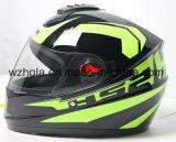 Goed dat de Volledige Helm van de Motorfiets van de Veiligheid van het Gezicht met ABS Materiaal verkoopt