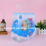 有名なブランドのプラスチックパッキングはヨーグルトのパッケージのためのPE袋を袋に入れる